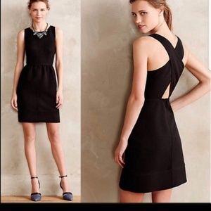Maeve rockin across cross back pocket dress
